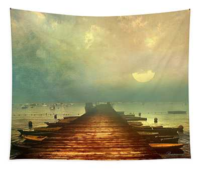 From The Moon To The Mist Tapestry