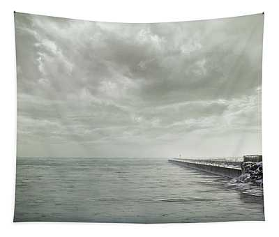 Frozen Jetty Tapestry