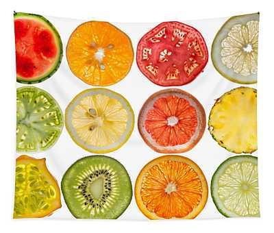 Fruit Market Tapestry