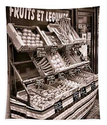Fruits Et Legumes Tapestry