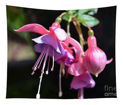 Fuchsia Flower Tapestry