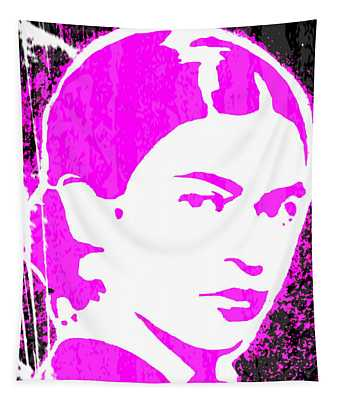 Fuchsia Frida Tapestry