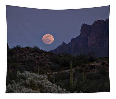 Full Moon Rising  Tapestry