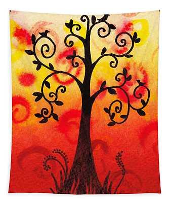 Fun Tree Of Life Impression IIi Tapestry