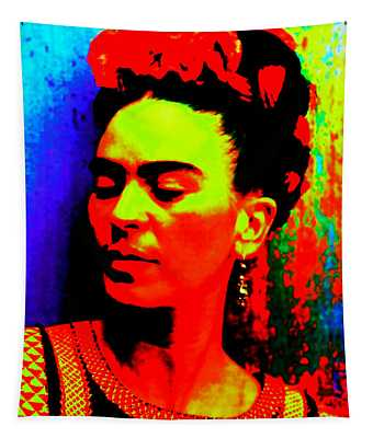 Funky Frida Tapestry