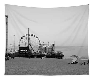 Funtown Pier - Jersey Shore Tapestry