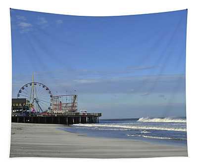 Funtown Pier Seaside Heights Nj Jersey Shore Tapestry