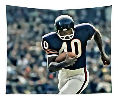 Gale Sayers Tapestry