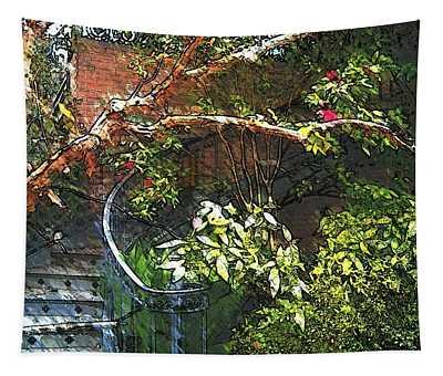 Garden Climb  Tapestry