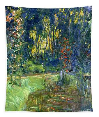 Garden Of Giverny Tapestry