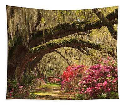 Garden View Tapestry
