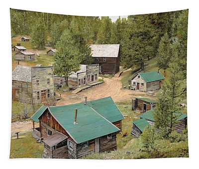 Ghost Towns Wall Tapestries