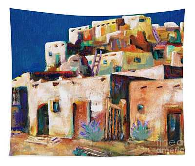 Gateway Into  The  Pueblo Tapestry