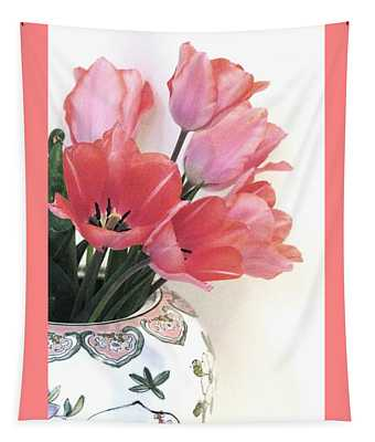 Gathered Tulips Tapestry