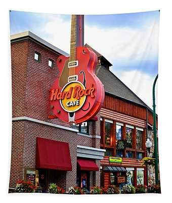 Gatlinburg Hard Rock Cafe Tapestry