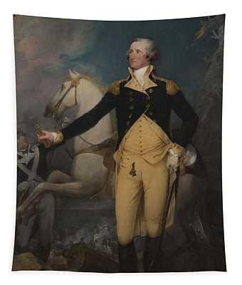 General George Washington At Trenton, 1792 Tapestry