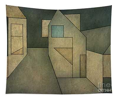 Geometric Abstraction II Tapestry