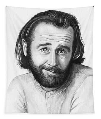 George Carlin Portrait Tapestry