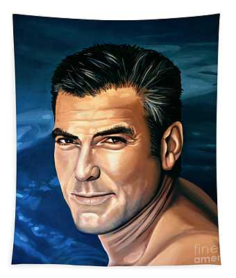 George Clooney 2 Tapestry