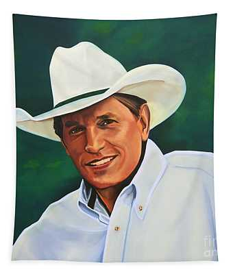 George Strait Tapestry