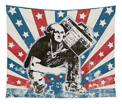 George Washington - Boombox Tapestry