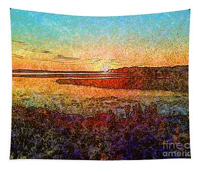 Georgian Bay Sunset Tapestry