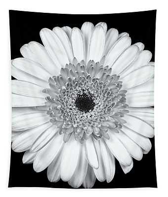 Gerbera Daisy Monochrome Tapestry