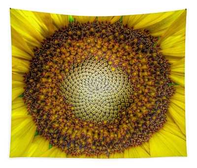 Ghost Sunflower Tapestry