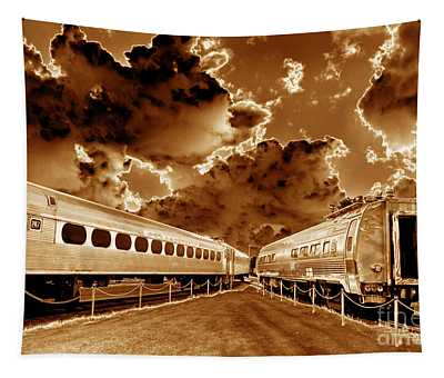 Ghost Train - Toned Tapestry