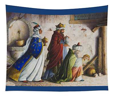 Bearing Gifts Tapestry