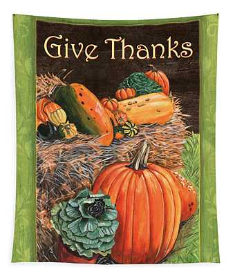 Give Thanks Tapestry