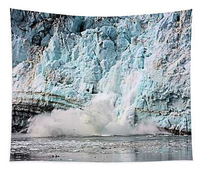 Glacier Calving Margerie Tapestry