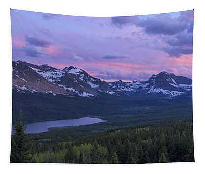 Glacier Glow Tapestry