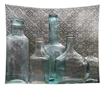 Glass Bottles 1 Tapestry