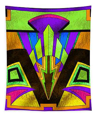 Glass Pattern 5 B Tapestry