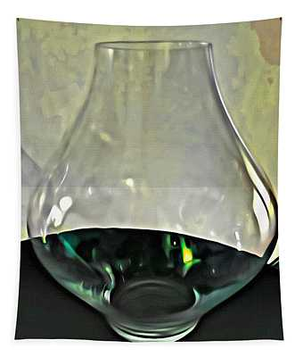 Glass Vase Tapestry