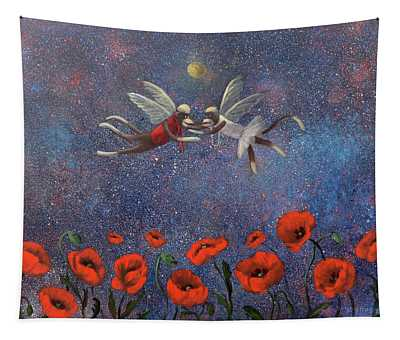 Glenda The Good Witch Has Flying Monkeys Too Tapestry