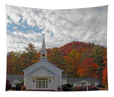Glenville In Autumn  Tapestry