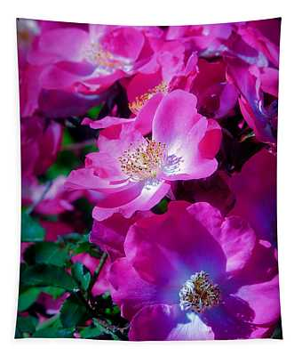 Glorious Blooms Tapestry