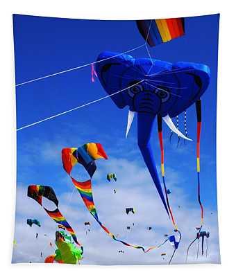 Go Fly A Kite 5 Tapestry
