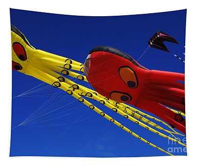 Go Fly A Kite 6 Tapestry