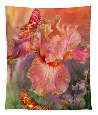 Goddess Of Spring Tapestry