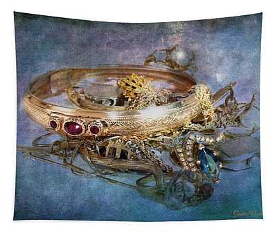 Gold Treasure Tapestry