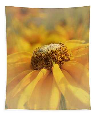 Golden Crown - Rudbeckia Flower Tapestry