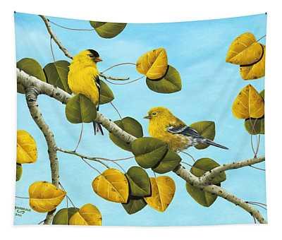 Golden Days Tapestry