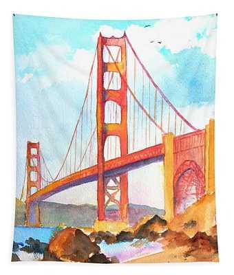 Golden Gate Bridge 3 Tapestry