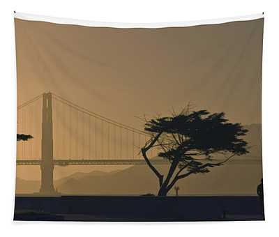Golden Gate Lovers Tapestry