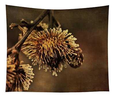 Golden Thistle Tapestry