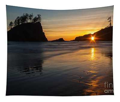 Golden Washington Coast Evening Tapestry