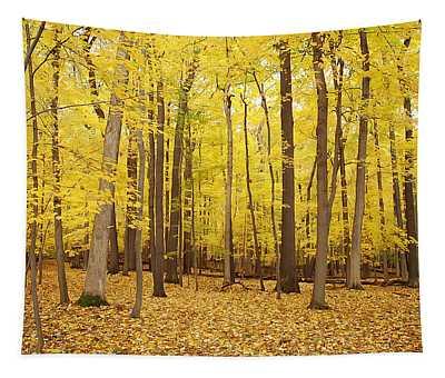 Golden Woods Tapestry